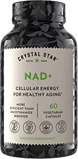 Sponsored Ad - Crystal Star NAD+ (60 Capsules) - Patented NAD for Cellular Energy & Healthy Aging - Clinically-Proven More...