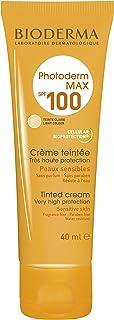 Bioderma Photoderm Max Sunscreen Cream SPF 100 Light Tint For Normal and Dry Sensitive Skin, 40ml