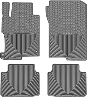 WeatherTech (WTHG293150) Floor Mat, Rubber, Front/Rear, Gray