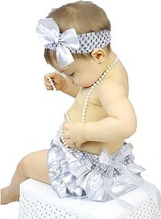 Petitebella Baby Girls' Dress Bling Polyester Bloomer Headband Set 6-24M