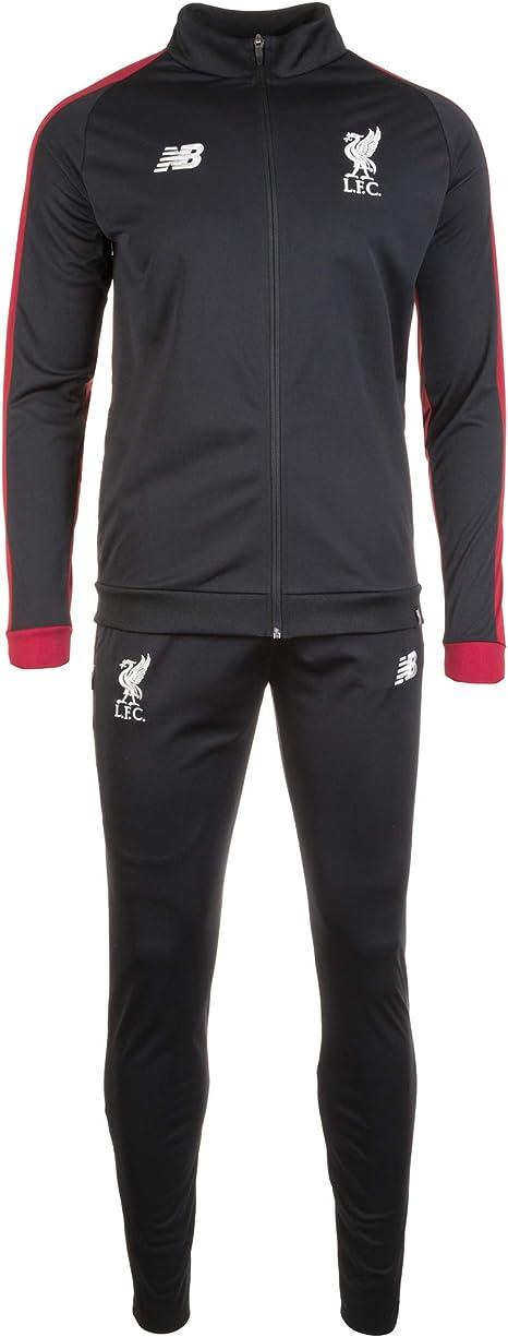 New Balance FC Liverpool Survêtement Noir Homme