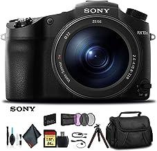 Sony Cyber-Shot DSC-RX10 III Camera DSCRX10M3/B with Soft Bag, Tripod, Additional Battery, 64GB Memory Card, Card Reader, ...