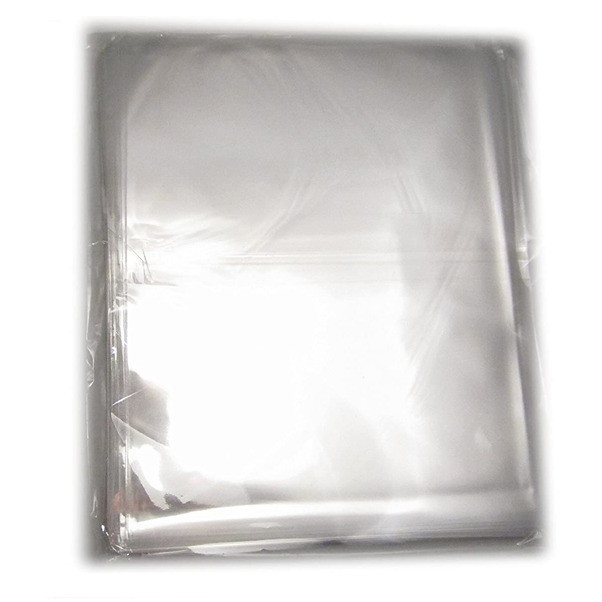 200Pcs 12x16 Clear Resealable Cello/Cellophane Bags Treat Bag OPP Plastic Bag with Adhesive Closure Good for Bakery, Candy, Cookie, Gift Bag, Clothing T-shirt Stroage,Party Favors
