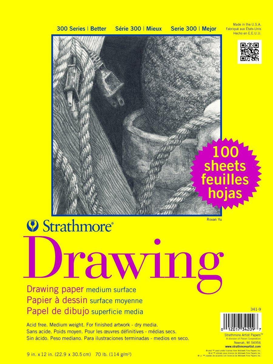Cuaderno De Dibujo 100 Hojas Strathmore Serie 300 23x30.5cm