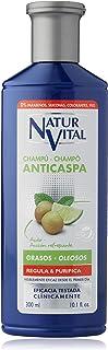 NaturVital Champú Anticaspa Cabellos Graso - 300 ml