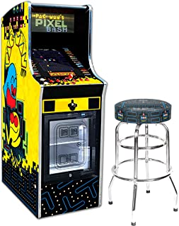 Bandai Namco Amusement America Pac-Man Pixel Bash Chill Home Upright w 30