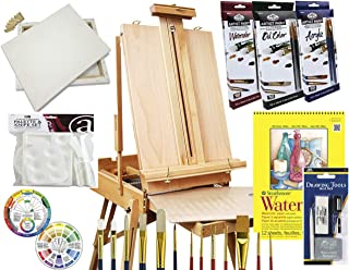 easel and paint set for adults