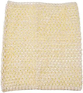 9inch Crochet Tutu Tube Tops Elastic Wrapped Chest for Girls DIY Tutu Dress Pettiskirt Tutus Tops