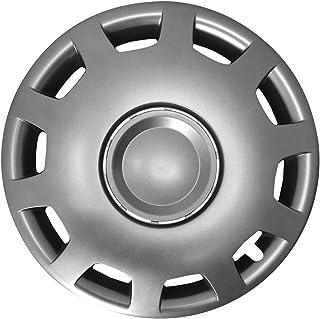 Autoteppich Stylers (Größe wählbar) 15 Zoll Radkappen/Radzierblenden GANI (Graphit) passend für Fast alle Fahrzeugtypen – universal