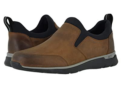 Johnston & Murphy Waterproof Prentiss XC4(r) Casual Slip-On (Tan Oiled Waterproof Full Grain) Men