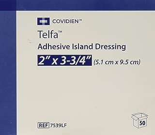 telfa adhesive island dressing 7539lf