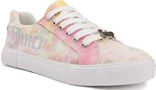 Juicy Couture Women's Clarity Comfortable Slip On Sneaker Shoe with No-Tie Laces and Cute Design