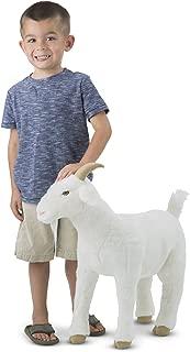Melissa & Doug Standing Lifelike Plush Goat Stuffed Animal, 22 x 22.5 x 9