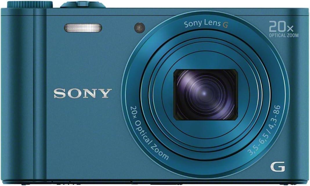 Sony Dsc Wx300 Digitalkamera 3 Zoll Blau Kamera