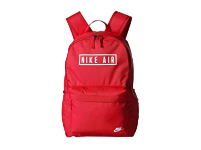 Nike Heritage Air GFX Backpack 2.0 (University Red/Thunder Grey/White) Backpack Bags