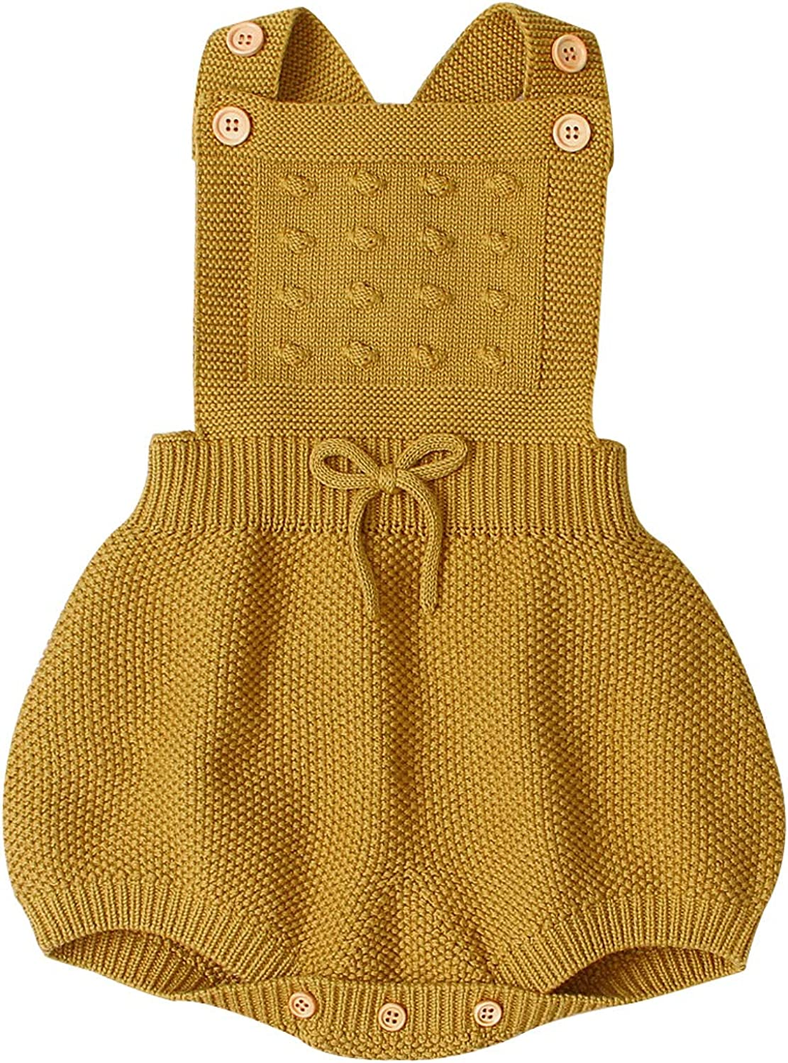 Eyiou Newborn Baby Knit Overalls Toddler Little Romper Rapid rise San Jose Mall Pho