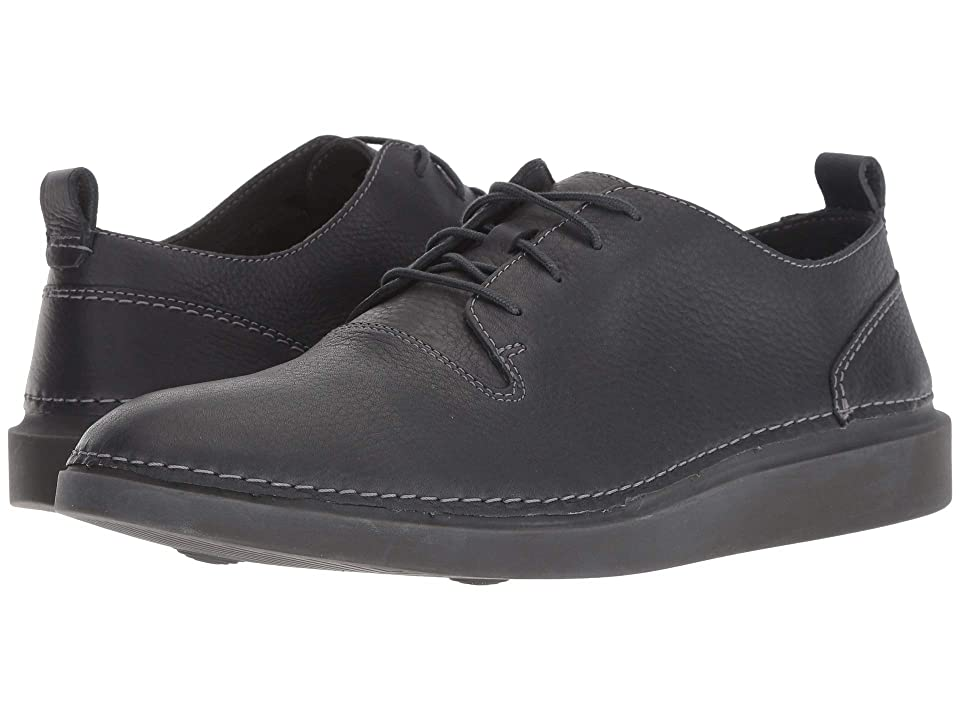 Clarks Hale Lace (Dark Grey Leather) Men