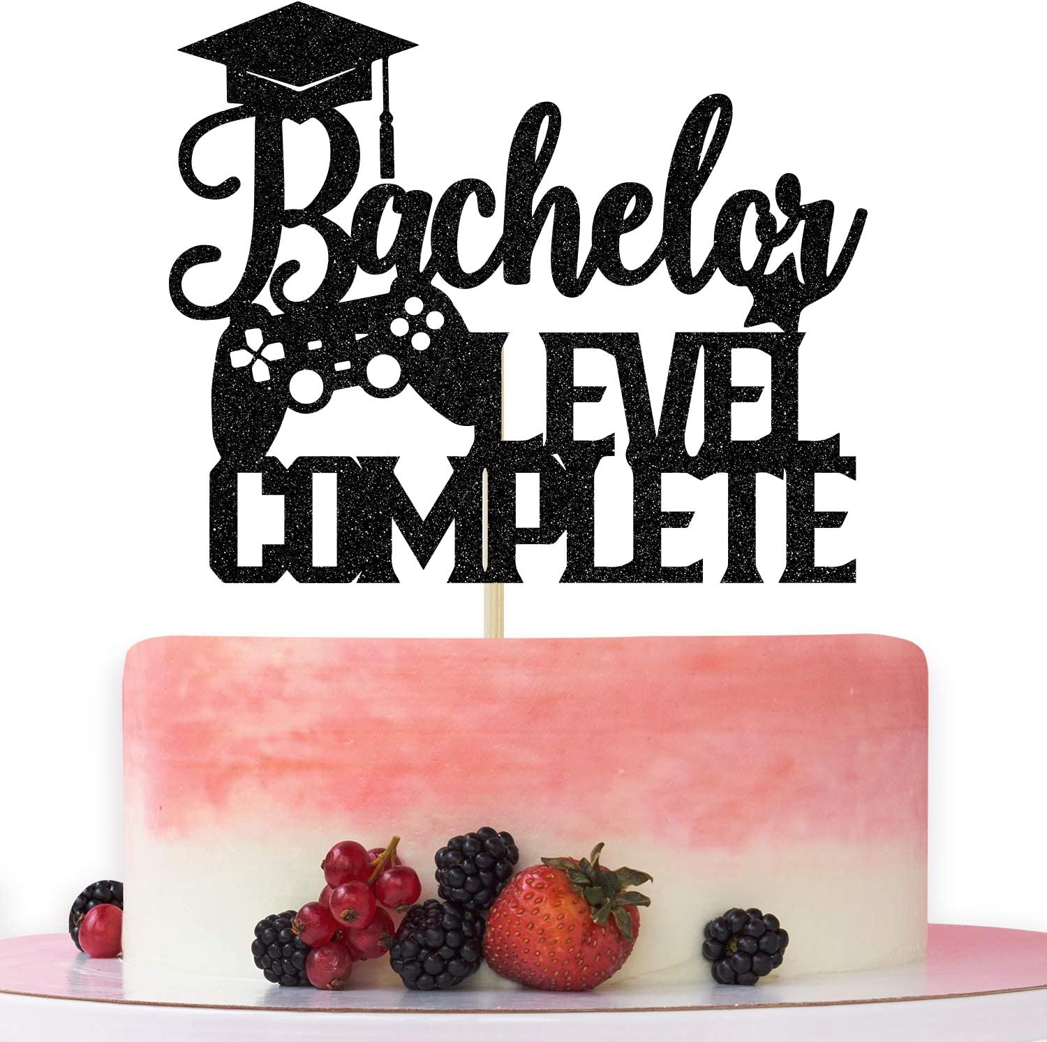 Bachelor Level Complete Cake Ca Topper Some reservation Degree Congrats Max 70% OFF