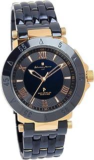 [サルバトーレマーラ]Salvatore Marra 腕時計 ウォッチ ロイヤルブルー 電波ソーラー ビジネス フォーマル メンズ