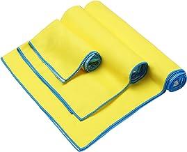 youyou Microfiber Handdoek 3 Pack Absorberende Handdoeken Sneldrogende Gym Sport Handdoek Compacte Grootte voor Zwemmen, W...