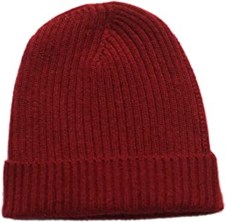 Pure 100% Cashmere Beanie for Men, Warm Soft Mens Cashmere Hat in a Gift Box