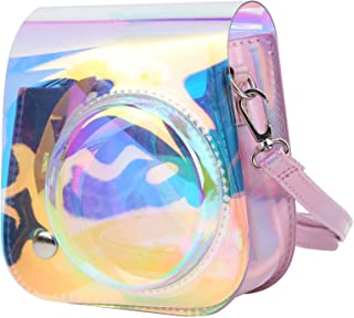 Camera Bag, Lightweight Removable Lens Cover Camera Storage Bag, Metal Strap Adjustable Buckle for Fujifilm Instax Mini 11...
