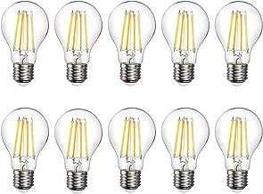 E27 Smart Filament Bulbs 7W Vintage Intelligent Edison Light Bulb Dual Color Dimmable Lamp WiFi Remote Control Time Settin...