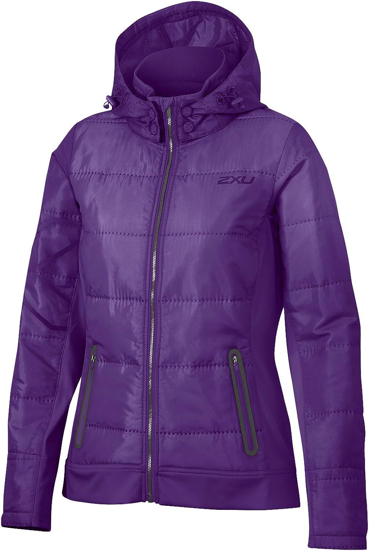 (Small, purplet)  2XU Insulation Women's Element Jacket, Womens, Element Insulation Jacket
