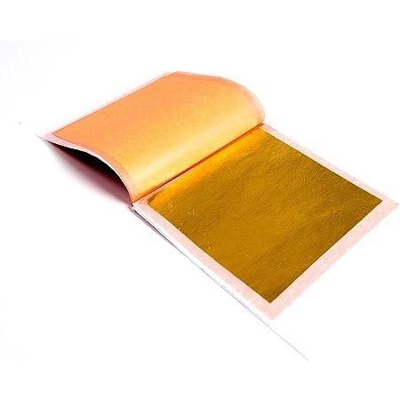 "10 Edible 24 Karat Gold Leaf Sheets1.75/"" x 1.75/""Decoupage Baking etc."