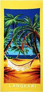 MagiDeal Big Microfiber Drying Bath Towel Printed Beach Swim Shower Towel Washcloth19