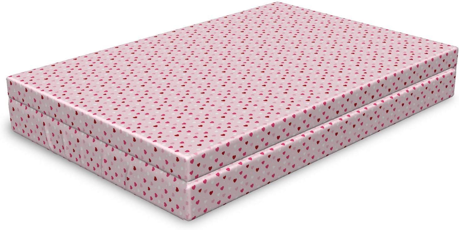 Ambesonne Romantic Dog Bed Philadelphia Mall Valentines Day i Theme Arlington Mall Little Hearts