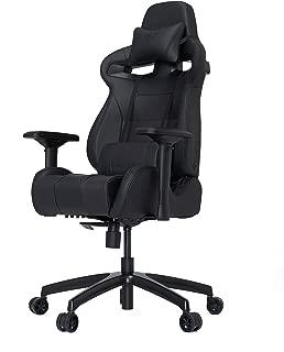 VERTAGEAR S-Line 4000 Gaming Chair, Medium, Black/Carbon