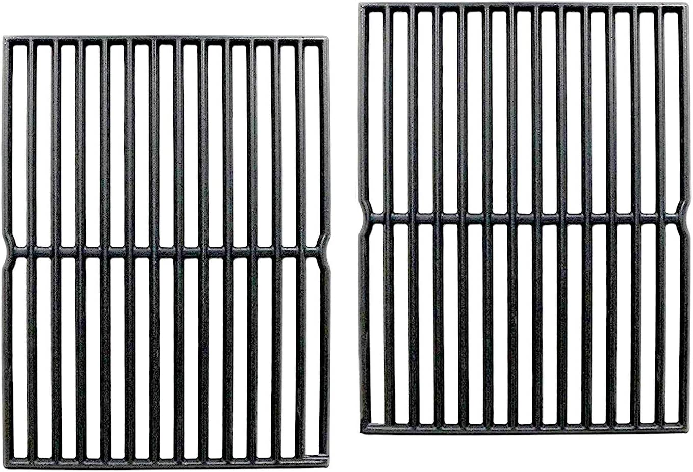 Votenli C752B Year-end gift 2-Pack 15 Inch Cast Iron Cooking service Grates Grid Repl