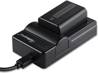 Batterytec Batería de Repuesto para Sony NP-FW50 Sony Alpha a5100 a6500 a6400 a6300 A7 α7Ⅱ NEX-5N NEX-F3 SLT-A37 NEX-7 NEX-6y Micro USB portátil Kit de Cargador. [1030mAh12 Meses de garantía]