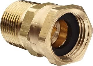 Dixon 504-1212 Brass Fitting, Adapter, GHT Female Swivel x 3/4