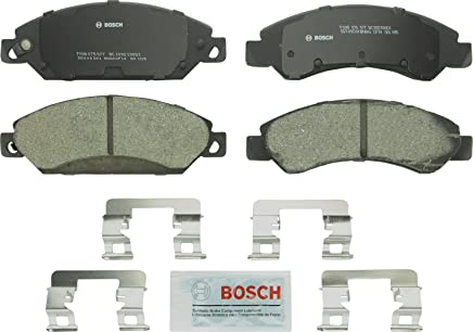Bosch BC1092 QuietCast Premium Ceramic Disc Brake Pad Set For Select Cadillac Escalade, ESV, EXT; Chevrolet Avalanche, Silverado 1500, Classic, Suburban, Tahoe; GMC Sierra, Classic, Yukon, XL + More; Front