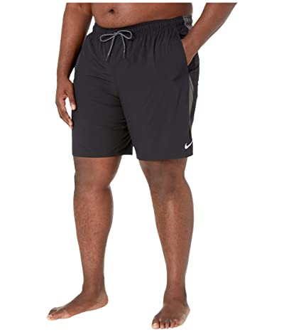 Nike Big Tall 9 Contend Volley Shorts (Black) Men