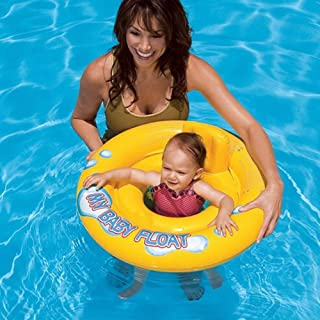 My Baby Float Swimming Swim Ring Pool Infant Chair Lounge with Backrest
