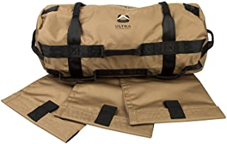 Ultra Fitness Gear Sandbags, Heavy Duty Workout Sand-Bag for Functional Strength Training, Dynamic Load Exercises, Crossfit, WODs, General Fitness and Military Conditioning