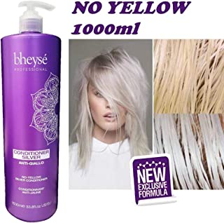 Conditioner Silver AntiGiallo No Yellow Bheysè Professional 1000ml - Renèe Blanche