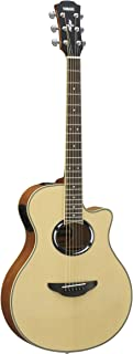 Yamaha APX500III Thinline Cutaway Acoustic-Electric Guitar, Spruce Top, Thin Body, Natural