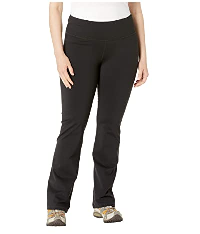Prana Plus Size Pillar Pants (Black) Women
