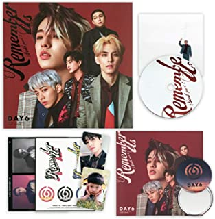 DAY6 4th Mini Album - Remember Us : Youth Part 2 [ FF ver. ] CD + Photobook + Clear Card + Decoration Sticker + Photocard + Postcard + FREE GIFT / K-POP Sealed