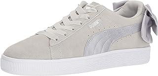 PUMA Unisex Suede Bow Jr Sneaker