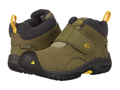 Keen Kids Kootenay II WP (Toddler/Little Kid) (Canteen/Old Gold) Kid