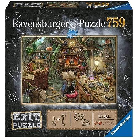 Ravensburger- Hexenküche 759 Teile Exit Puzzle, 19952, Multicolore