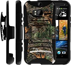 Untouchble Case for HTC One M8 | HTC M8 Case [Heavy Duty Clip]- Shockproof Swivel Holster Case with Built in Kickstand - Tree Camo Branch