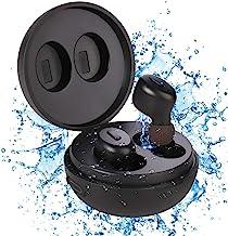 IP68 Waterproof Swimming Earbuds - Sport Wireless Bluetooth 5.0 Headphones Built-in Mic Sweatproof Stable Fit in Ear Heads...