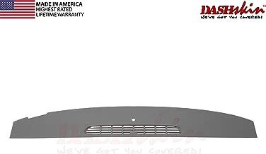 DashSkin Molded Defrost Dash Cover Compatible with 07-14 GM SUVs & Pickups in Dark Titanium