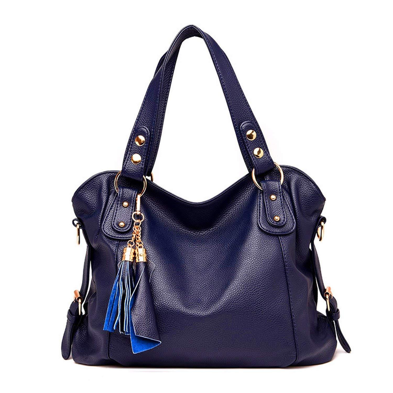 ポール女性のハンドバッグのファッションハンドバッグトレンドレザータッセルバッグ